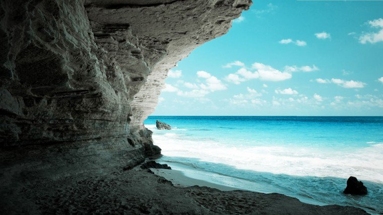 amazing full hd wallpaper cave on the beach wallpaper