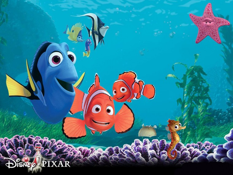 Central Wallpaper Finding Nemo 3D Movie Poster HD Wallpapers
