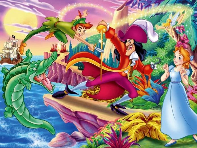 Peter Pan Wallpaper   Classic Disney Wallpaper 7089869