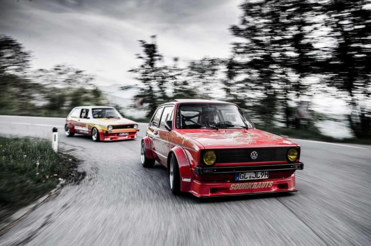 Mk1 VW Golf GTI cars modified wallpaper 2048x1360 956504
