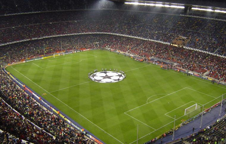 Camp Nou Stadium Barcelona HD Widescreen Wallpaper HD Wallpapers