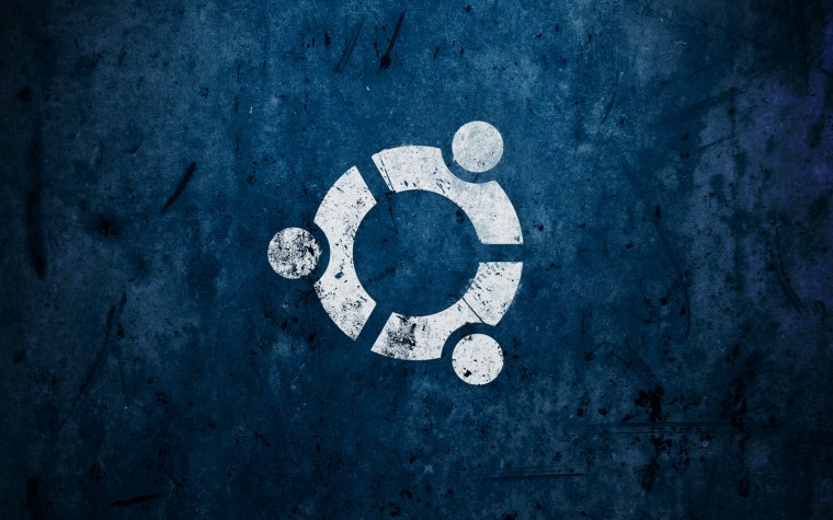 Ubuntu Blue Background HD Wallpaper with 1440x900 Resolution