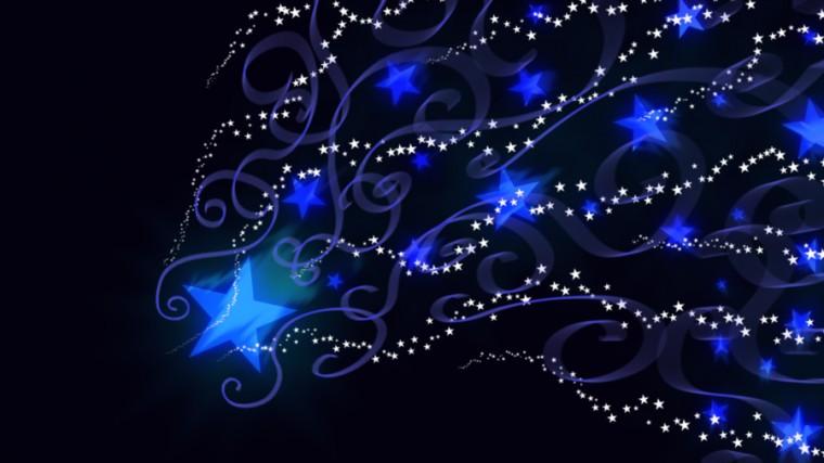 Shooting Stars Wallpaper by SharmClucas