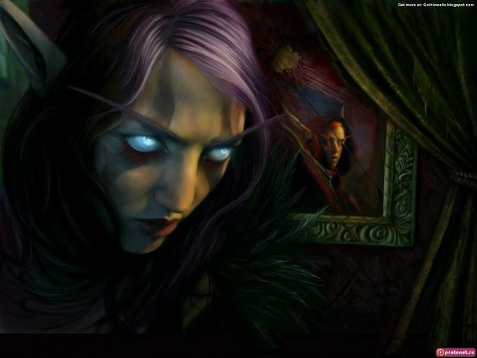 Evil look   Dark Gothic Wallpapers   FREE Gothic Wallpaper   Dark Art