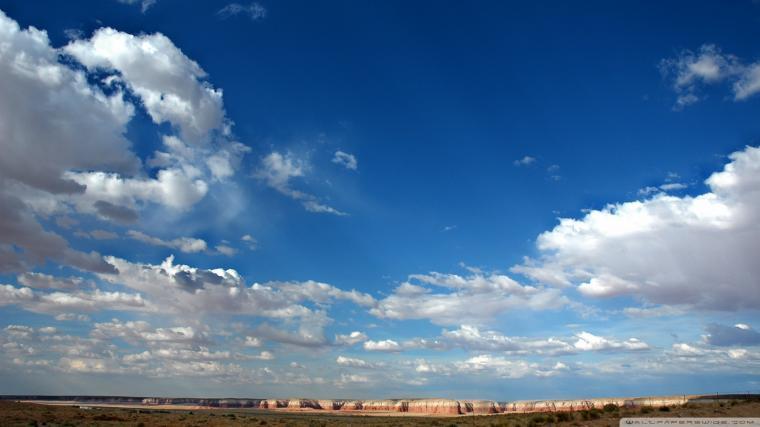 Clouds In Blue Sky 3 Wallpaper 1920x1080 Clouds In Blue Sky 3