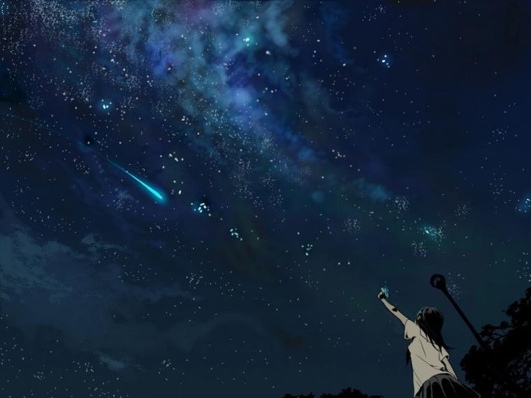 anime Shooting Stars Wallpapers HD Desktop and Mobile