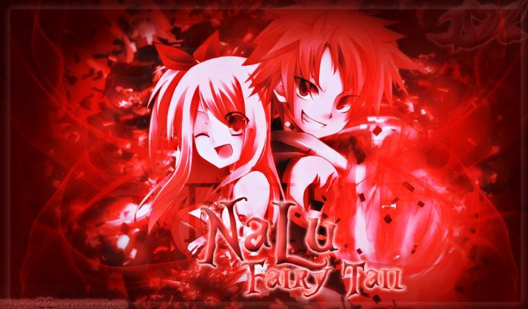 Fairy Tail NaLu Wallpaper by Darkade22