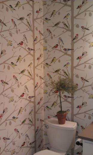 whimsical bird motif Wallpaper Pinterest