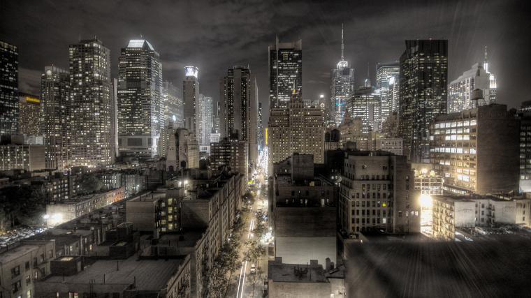 City at Night Wallpapers