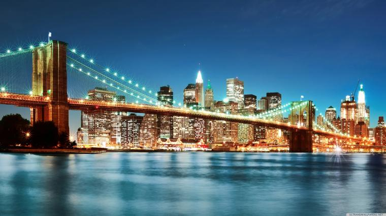 New York City Lights 4K Ultra HD wallpaper 4k WallpaperNet