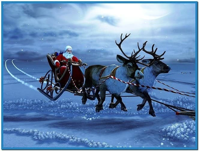 Christmas 3d screensaver and animated wallpaper   Download