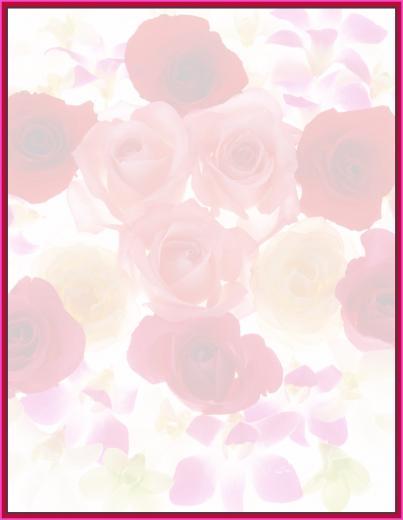 printable stationary border paper printable floral border
