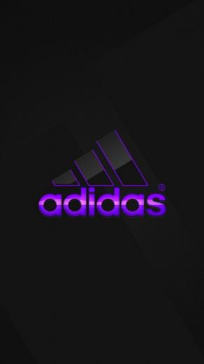 Adidas Wallpaper For Iphone Adidas logo purple wallpaper