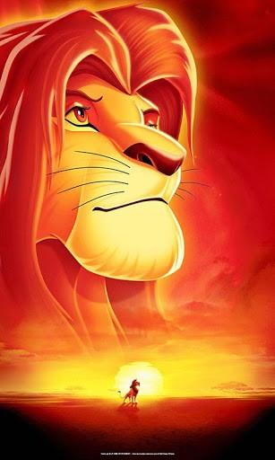 Lion King Iphone Wallpaper The lion king live wallpaper