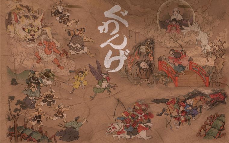 10 Japanese Art Wallpapers Wall Japan Wallpaper Painingjpg