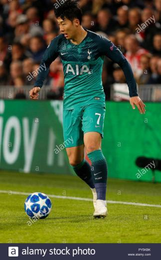 Son Heung Min Tottenham Hotspur Stock Photos Son Heung Min