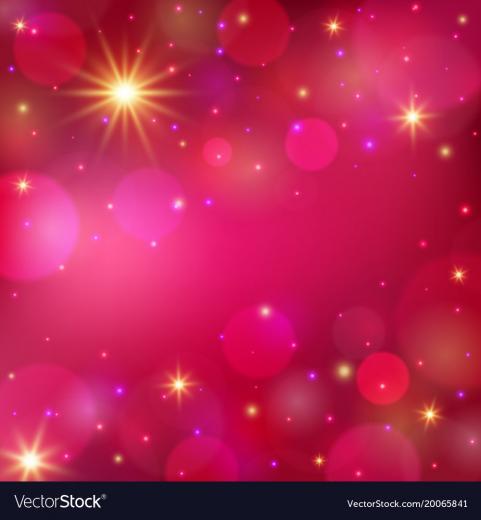 Magic shining background romantic background Vector Image