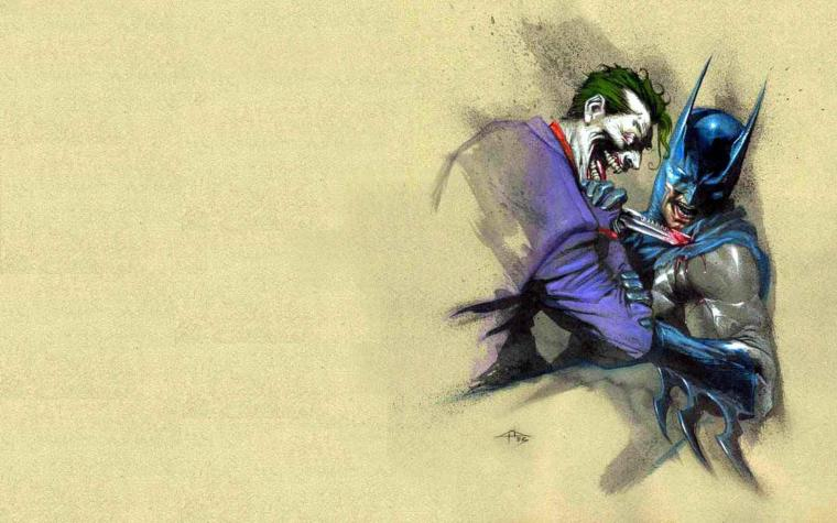 [69+] Batman Joker Wallpaper on WallpaperSafari