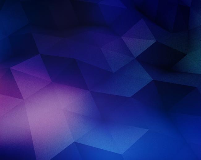 Blue and purple geometry wallpaper in 3D   Abstract wallpapers
