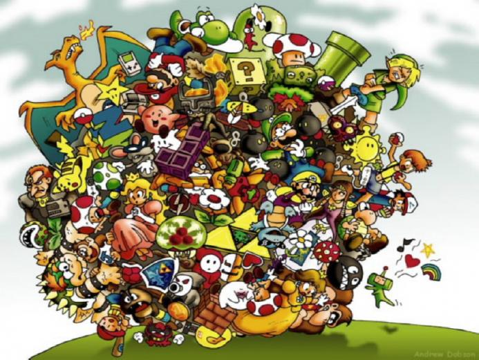 nintendo wallpaperRetro Gamer Top 10 things people say about Nintendo