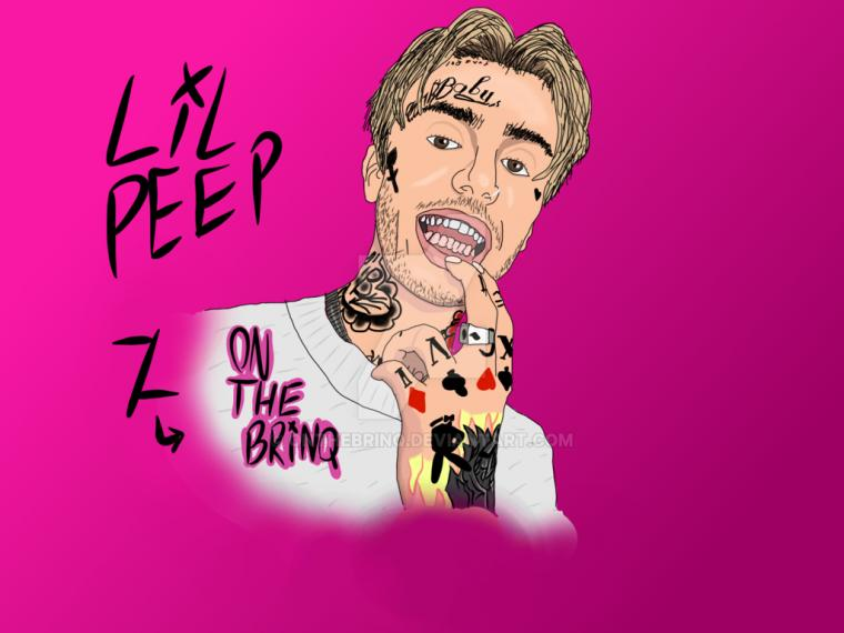 Lil Peep by OnTheBrinq