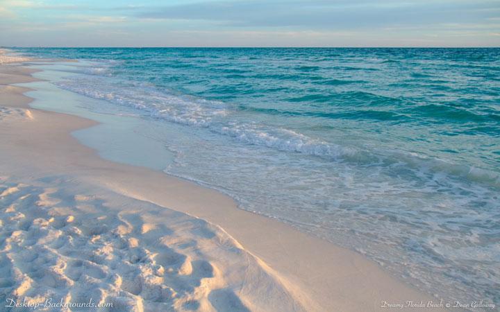 Dreamy Florida Beach Desktop Backgroundscom