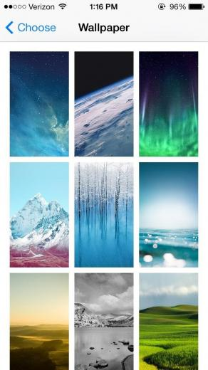 Dynamic Wallpapers in iOS 7 for Your iPhone 5 Techno Camp