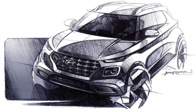 2020 Hyundai Venue Teasers Reveal More Of The Tiny SUV
