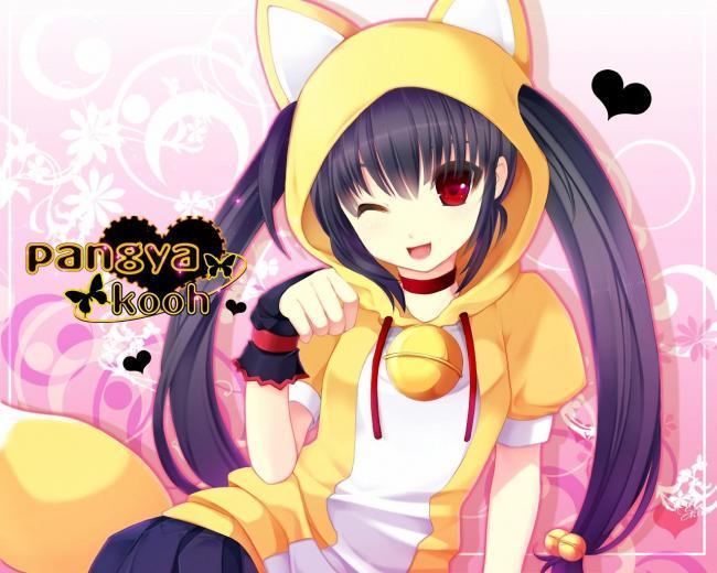 neko girl   anime super fan Wallpaper 24827039