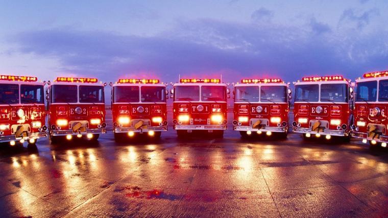 Fire Truck Backgrounds for Pinterest