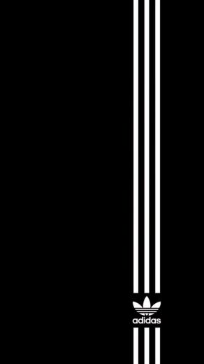 Simple Adidas Logo Wallpaper   iPhone Wallpapers
