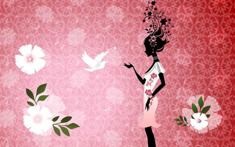 Girly Backgrounds for Desktop HD wallpaper background