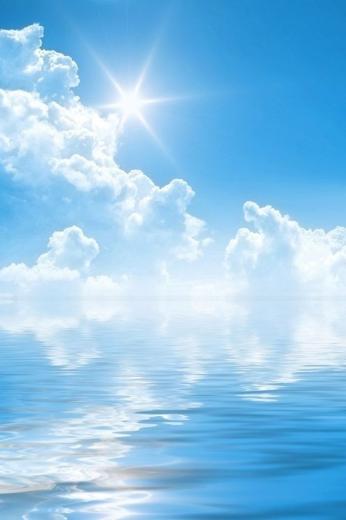 Summer iPhone Wallpaper Blue Skys in 2019