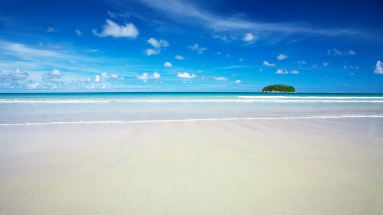 HD Sky Blue Beach Wallpapers HD Wallpapers