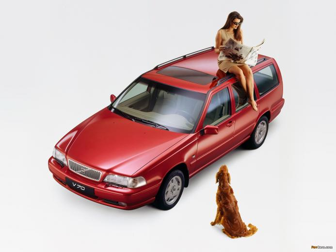 Volvo V70 19972000 wallpapers 1600x1200