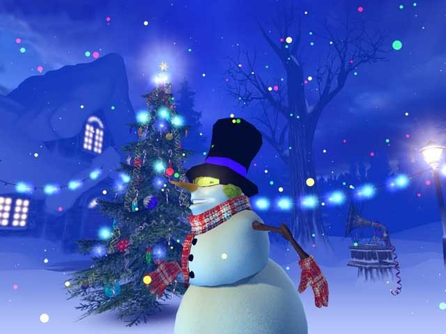 3PlaneSoft Christmas 3D Screensaver V10