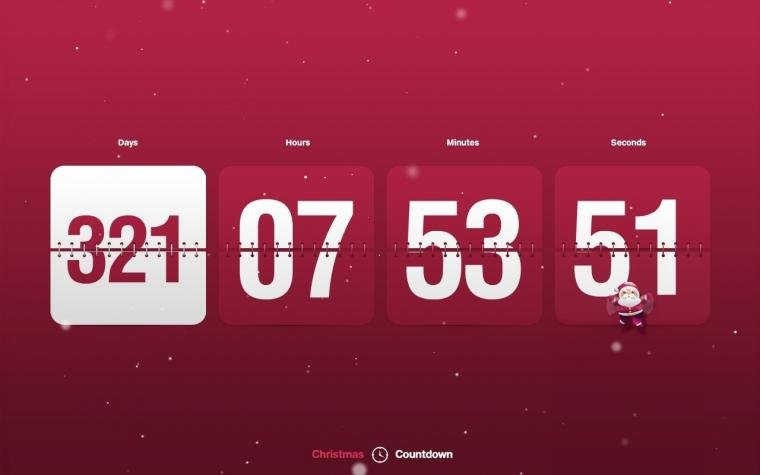 Wallpaper to decorate your desktop with stunning New Year Countdown