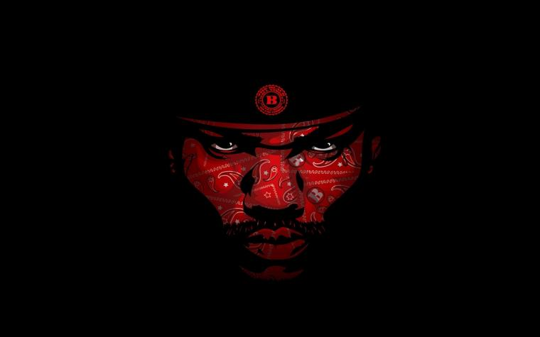 Wallpapers Download 1920x1200 minimalistic blood the game hip hop