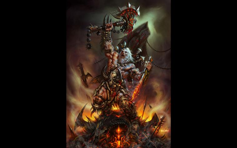 Barbarian  Diablo 3 Wallpaper Gallery   Best Game Wallpapers