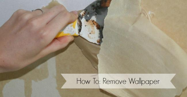 how to take off old wallpaper from walls