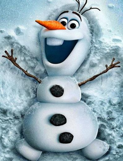 Olaf from Frozen Wallpaper for iPhone 5