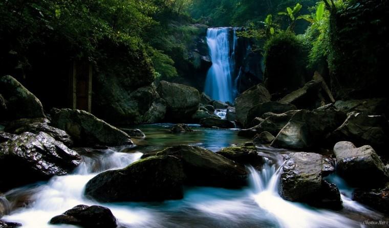 most beautiful waterfall HD Desktop Wallpaper HD Desktop Wallpaper