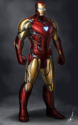 Iron Man Mark 85 in Avengers 4 by buynsanjaa