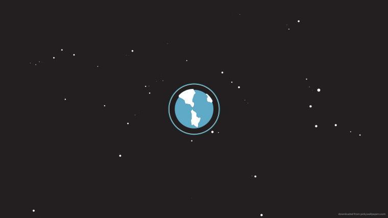 The Minimal Earth Android Home Screen Lifehacker Australia