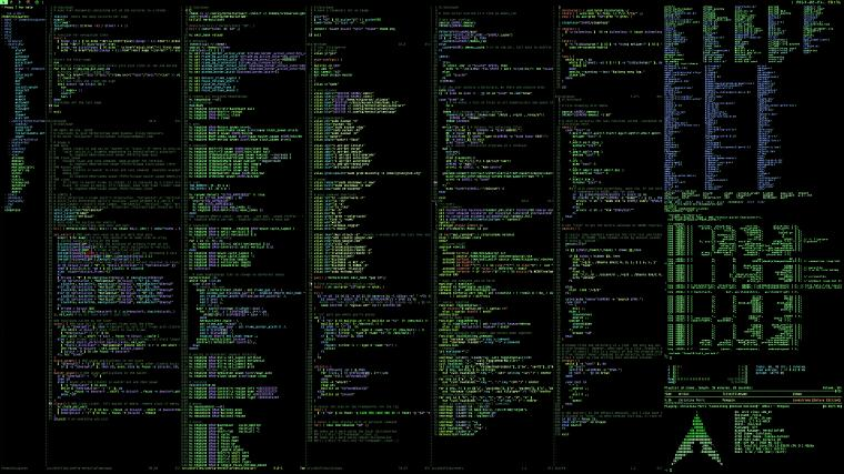 Archlinux Terminal computer system programming wallpaper background