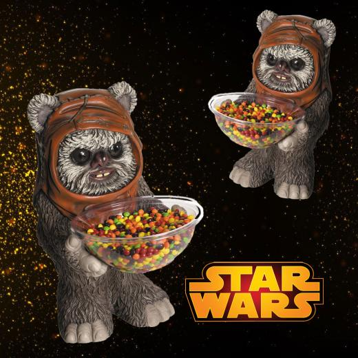 STAR WARS EWOK CANDY BOWL HOLDER HALLOWEEN PARTY SUPPLIES Gifts