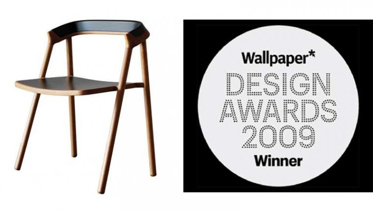 Coen Chair   Best of dining chair by Wallpaper Design Award 2009