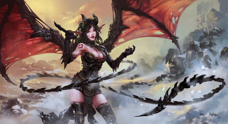 Succubus Computer Wallpapers Desktop Backgrounds 4500x2447 ID