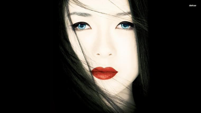 Japanese Girl Geisha Skull Art Hd Wallpapers Geisha wallpapers HD