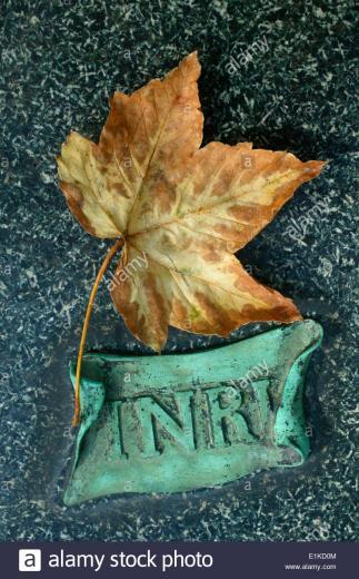 INRI P re Lachaise graveyard Stock Photo 69883428   Alamy